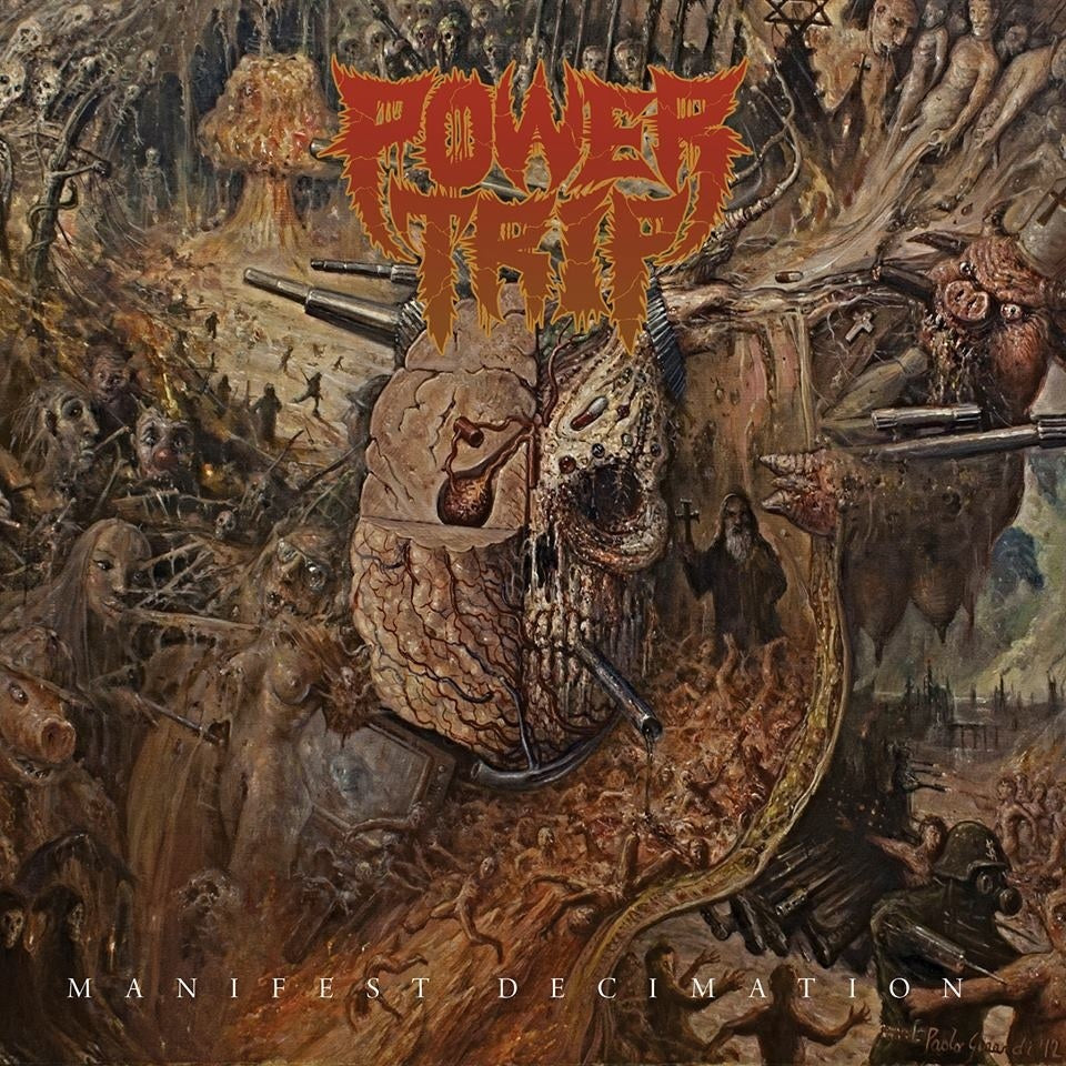 POWER TRIP - Manifest Decimation (Vinyle) - Southern Lord