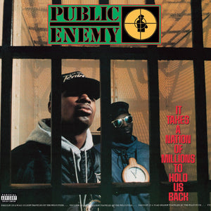 PUBLIC ENEMY - It Takes A Nation of Millions to Hold Us Back (Vinyle) - Def Jam