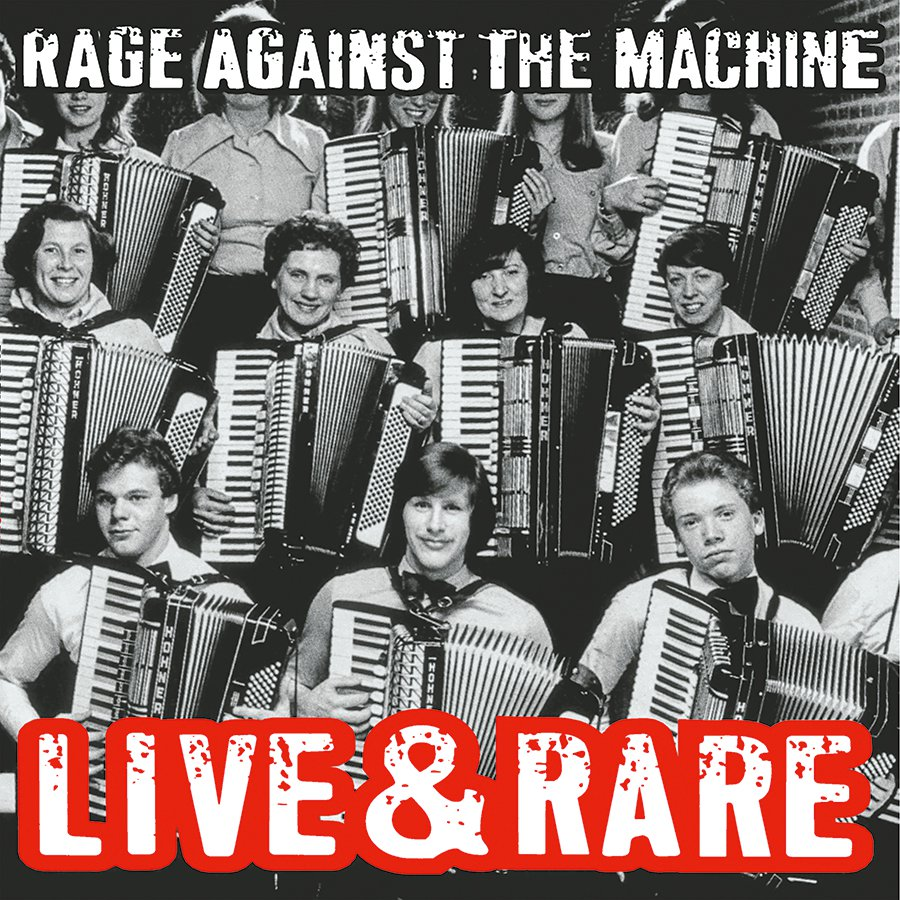 RAGE AGAINST THE MACHINE - Live & Rare (Vinyle) - Sony