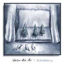 BELOW THE SEA - Sceneries EP  (CD) - Where Are My Records