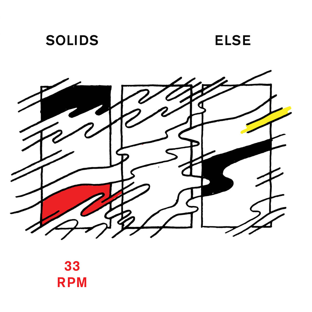 SOLIDS - Else (Vinyle) - Dine Alone