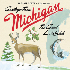 SUFJAN STEVENS - Greetings From Michigan: The Great Lake State (Vinyle) - Asthmatic Kitty