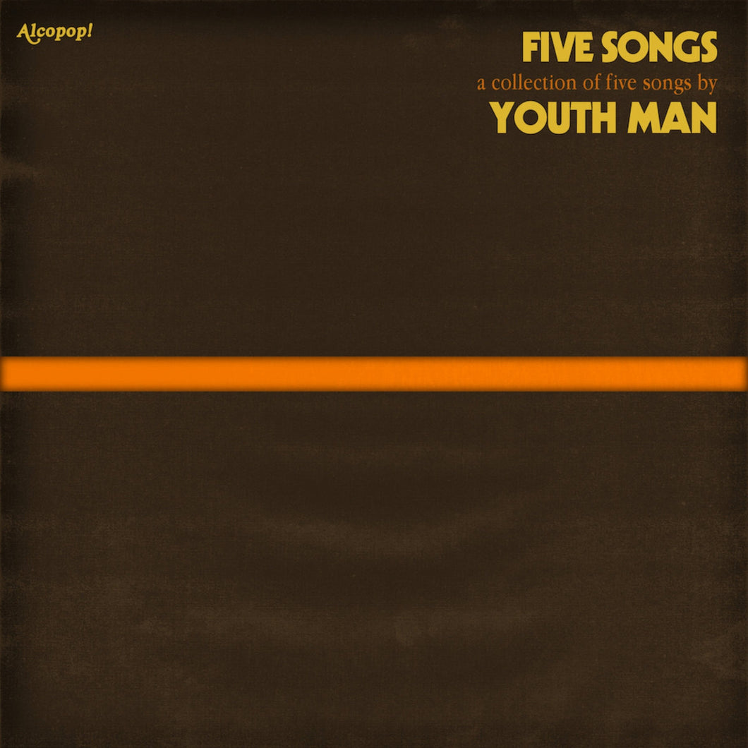 YOUTH MAN - Five Songs (Vinyle) - Alcopop