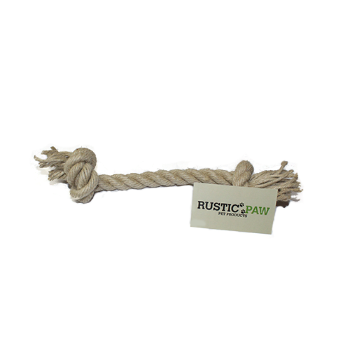 Rustic Paw® Hemp Rope Basic Dog Toy – Large