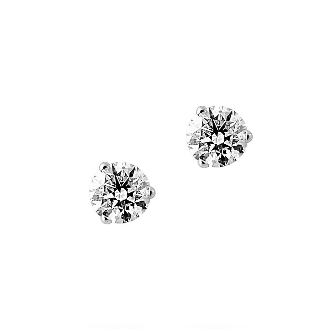 pav diamond product classic silver normal stud earrings hardy lyst pave jewelry small chain gallery sterling john
