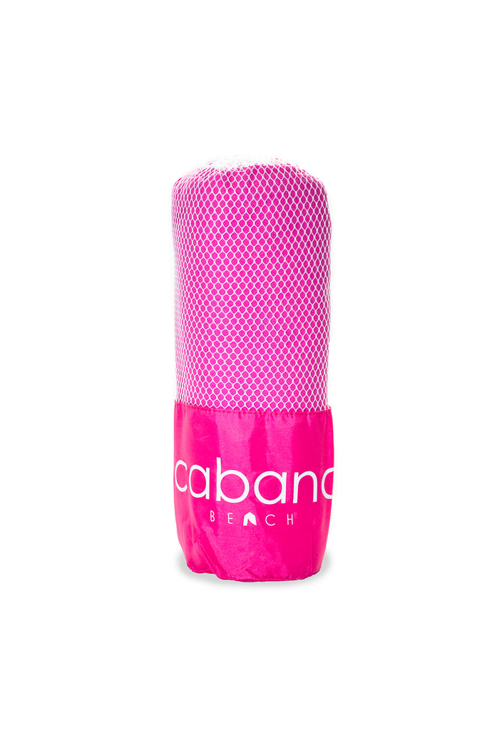 Cabana Beach Towels Classic Collection - Bahamian Pink