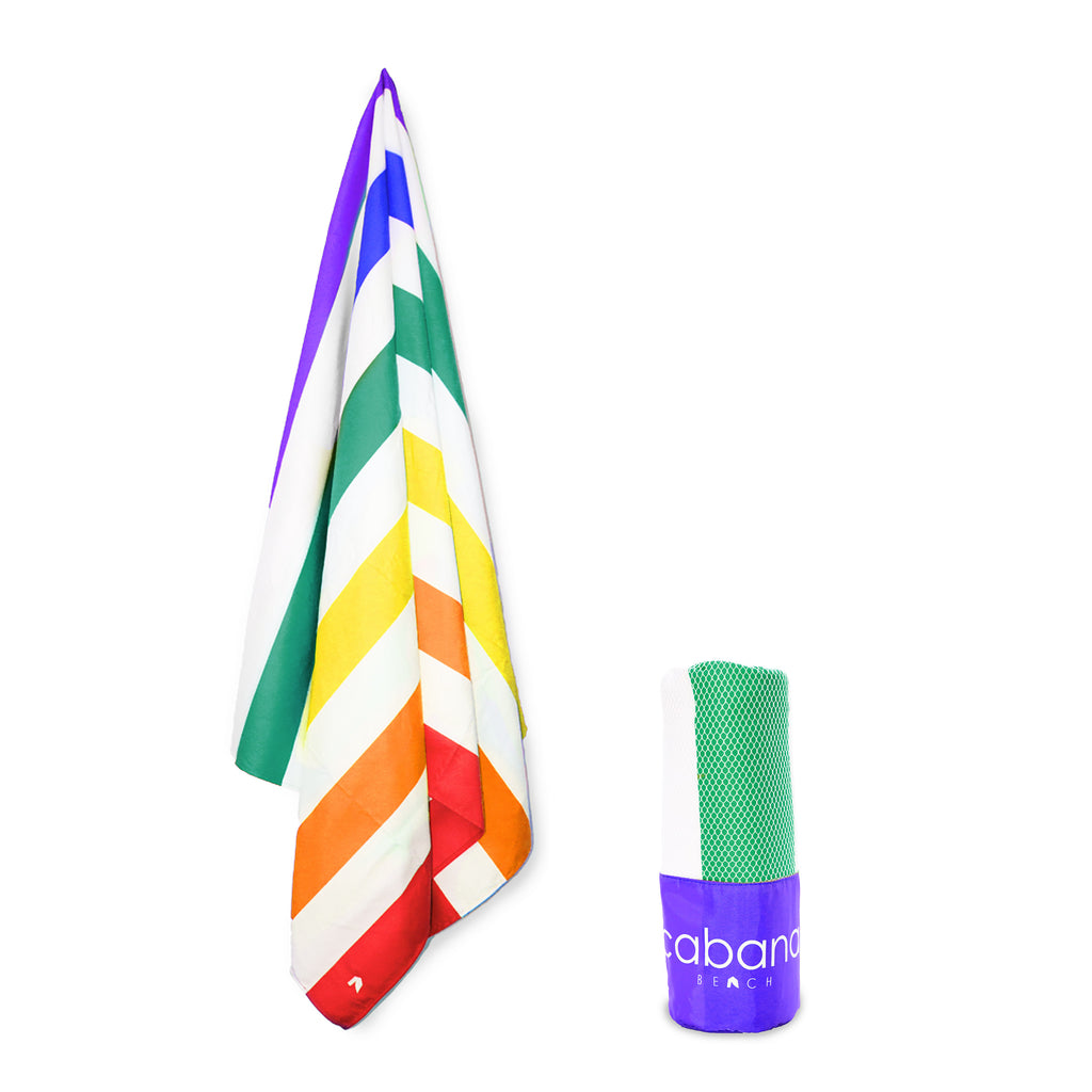 Cabana Beach Towels Stripe Collection - Pride