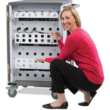 Anthro Technology<br>  Furniture YES Charging Cart<br> for 36 Mini-Laptops<br> SKU: YESMORGMPW4