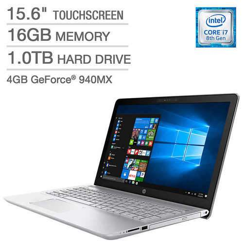 "HP 15.6"" FHD Touch Core i7<br> 8850U 4GB NVIDIA Win 10 Pro (Certified Refurbished)<br> SKU: 2SS18UAR#ABA"