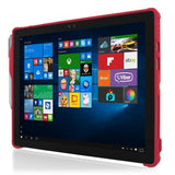 Incipio feather Hybrid <br> RUGGED CASE <br> Surface Pro 4 - RED <br> SKU: MRSF-092-RED