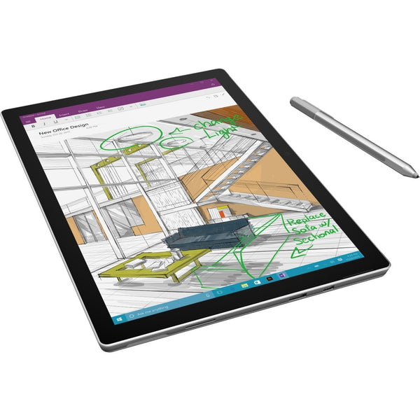 "Microsoft Surface Pro 4<br> Intel Core M3 4 GB Memory<br> 128 GB SSD Intel HD Graphics<br> 515 12.3"" 2736 x 1824 Touchscreen<br> 5 MP Front / 8 MP Rear Camera<br> Windows 10 Pro EDU Bundle w/Blk Type Cover (EN)<br> SKU: TZ5-00001"