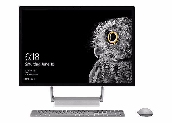 Microsoft Surface Studio i7 Intel 32GB: NVIDIA 128GB SSD, 2TB HDD SKU: 45U-00001