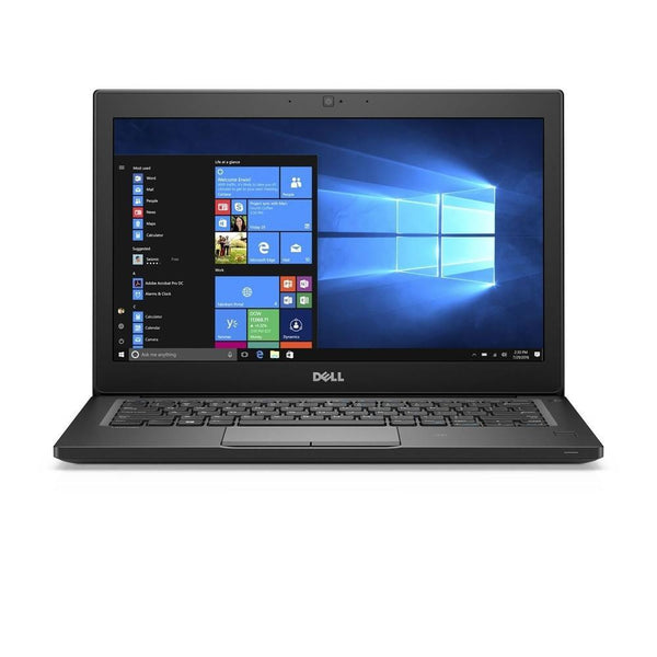 "Dell Refurbished Dell Latitude 7280<br> Intel Core i5-6300U X2 2.4GHz 8GB 256GB SSD 12.5"", Black (Certified Refurbished)<br> SKU: LAT183372SA"