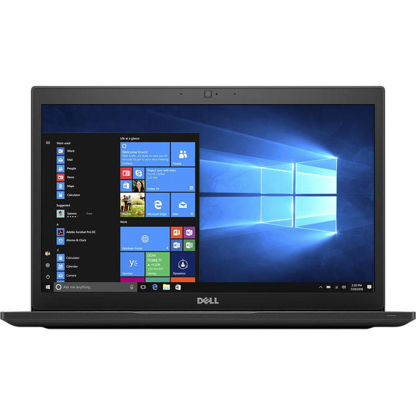 "(Factory Recertified) Dell Latitude 7480 Laptop<br> Intel Core i5 – 2.60GHz<br> 4GB RAM, 128GB SSD<br> 14"" Display, Windows 10 Pro 64<br> SKU:LAT183385SA"