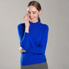 Boho Chic 100% cashmere  High Ribbed O-neck Short Sleeve Knitted Pullover