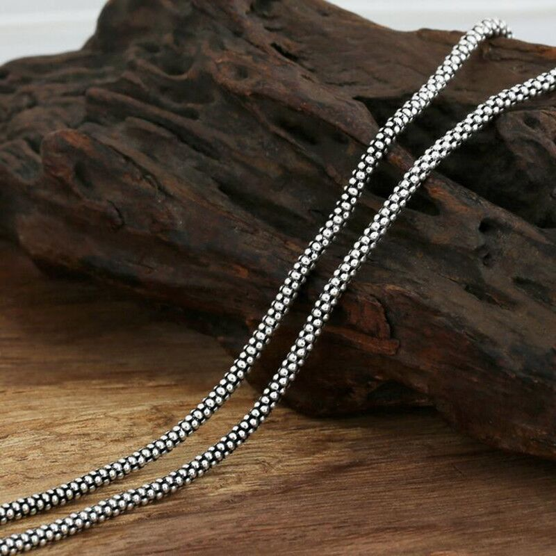 Boho Chic 925 sterling silver necklace  Bead Corn - BOHOCHIC