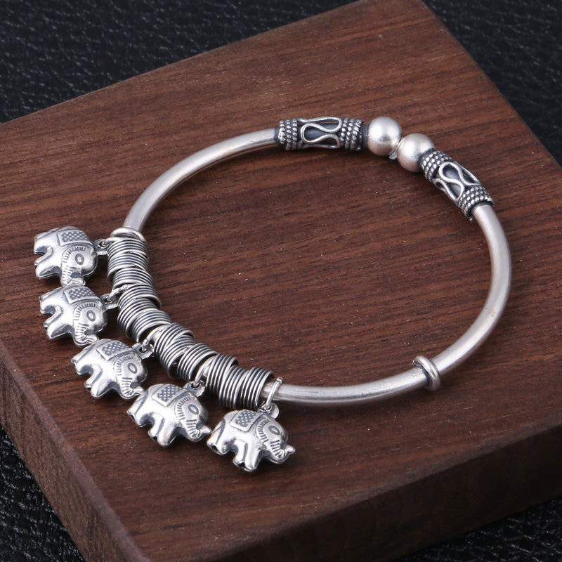 Boho Chic  Bangle 100% 925 sterling silver - BOHOCHIC