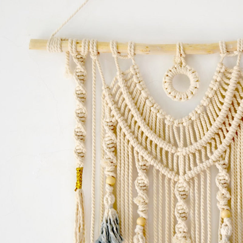 Boho Chic Macrame Wall Hanging Large Decor - BOHOCHIC