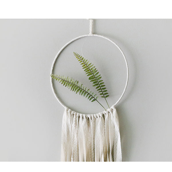 Boho Chic 30cm x 70cm catcher wall hanging decoration - BOHOCHIC