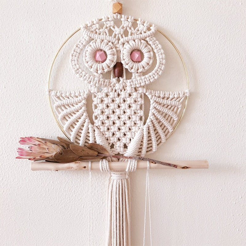 Boho Chic Hand-woven Macrame Wall Hanging Tapestry - BOHOCHIC