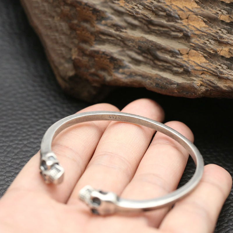 Boho Chic 100% Real 925 sterling Set of Ring and Bracelet Bangle - BOHOCHIC
