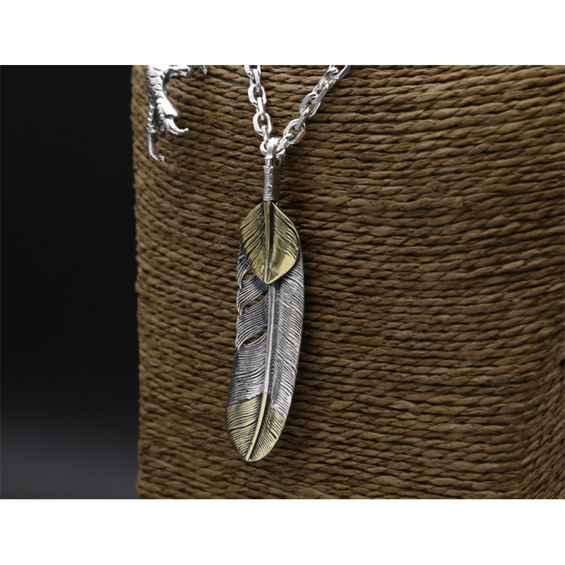 Boho Chic Eagle Claw Necklace Pendant 100% Real 925 Sterling Silver - BOHOCHIC