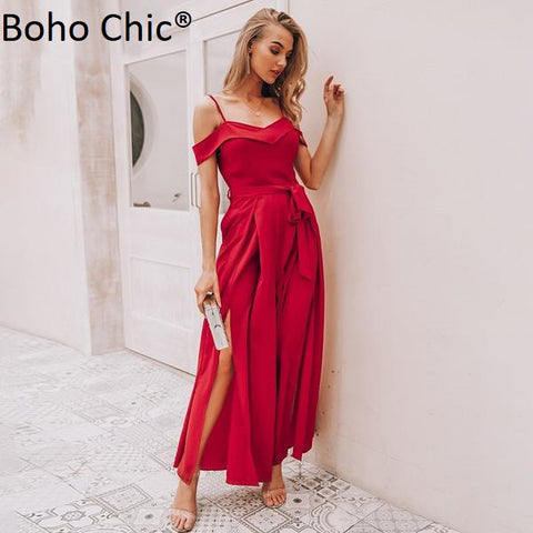Boho Chic Flower printed long skirt Asymmetrical ruffle tie up wrap
