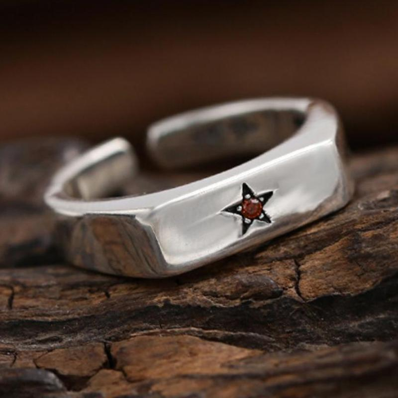 Boho Chic Smooth opening five-pointed star - BOHOCHIC