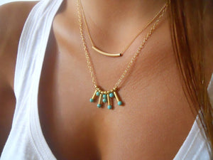 boho chic Sexy Multi Layer Chain chokers Necklaces - BOHOCHIC