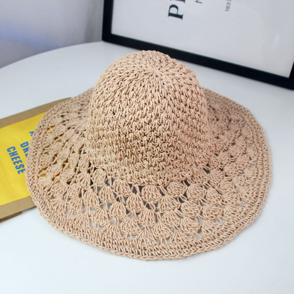 Boho Chic Summer Hand made straw hat - BOHOCHIC
