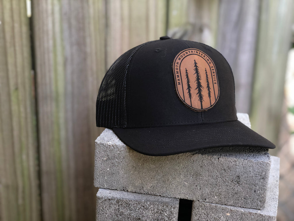 Mountaineering Leather Patch Hat
