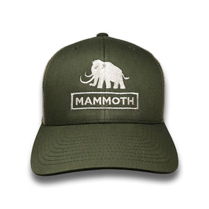 Mammoth Logo Trucker