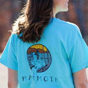 Mammoth Waterfall Short Sleeve Tee
