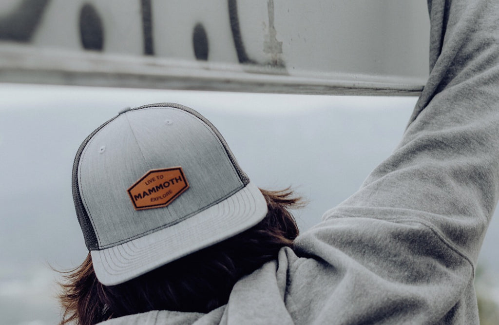 Surfer Leather Patch Trucker