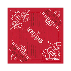 Devils River Whiskey Bandana - Devils River Whiskey