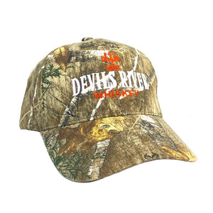 Devils River Whiskey Camo Baseball Cap