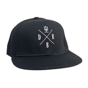 Snapback DRBx Flat Bill Cap - Devils River Whiskey