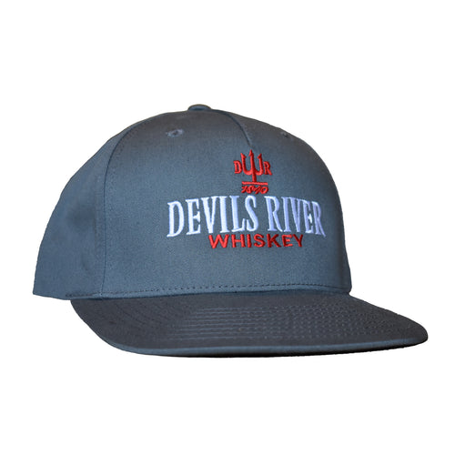 Devils Flat Bill Cap - Devils River Whiskey