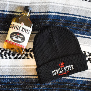 Devils River Whiskey Embroidered Beanie