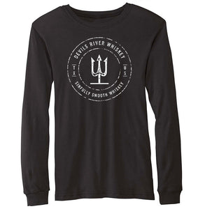 Devils River Whiskey Trident Long Sleeve Tee