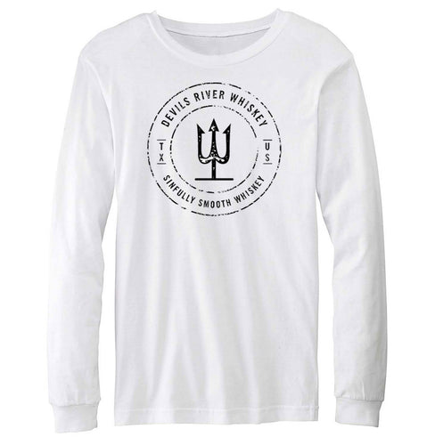 Devils River Whiskey Trident Long Sleeve Tee - Devils River Whiskey