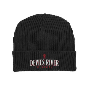 Devils River Whiskey Embroidered Beanie - Devils River Whiskey
