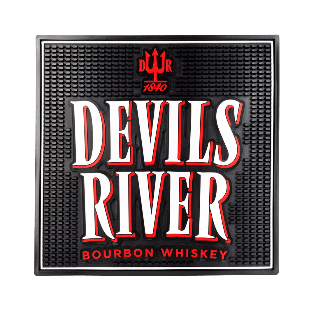 Devils River Whiskey Bar Mat - Devils River Whiskey