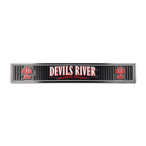 Devils River Whiskey Bar Rail Mat - Devils River Whiskey