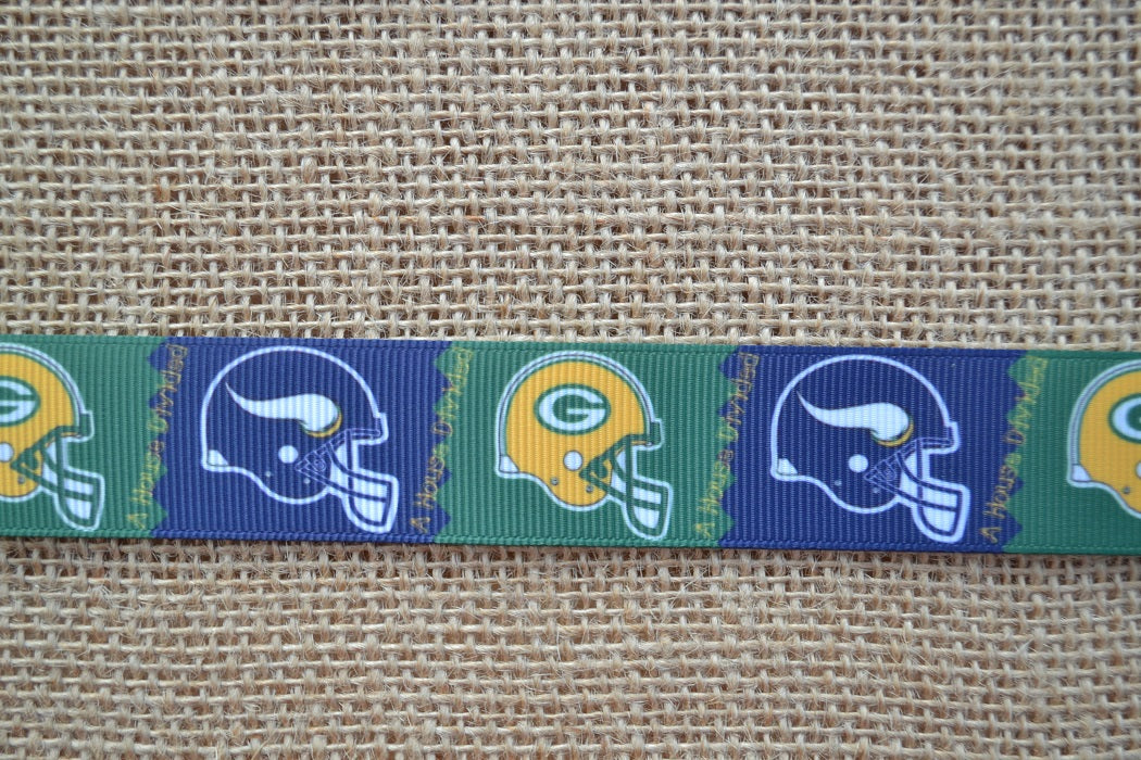 dog collar vikings green bay packers