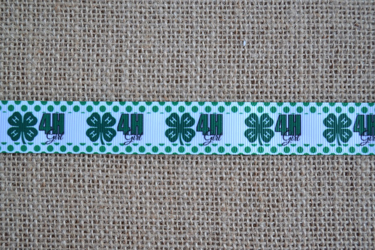 dog collar 4h shamrock clover