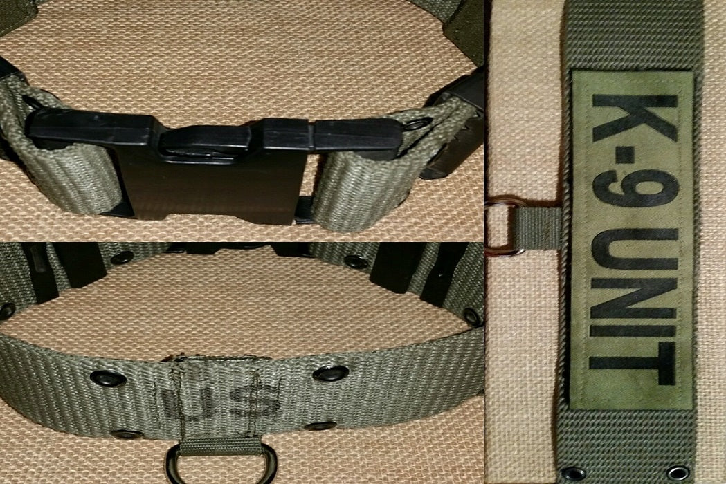 dog collar ALICE belt military tactical army