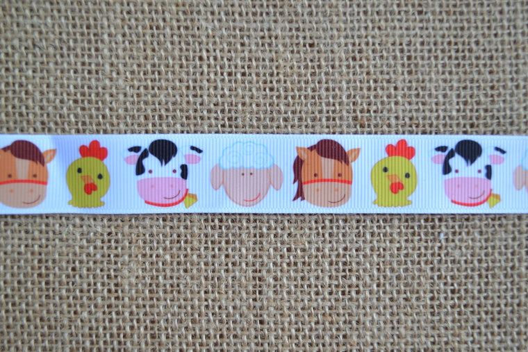 dog collar barnyard sheep pig cow horse