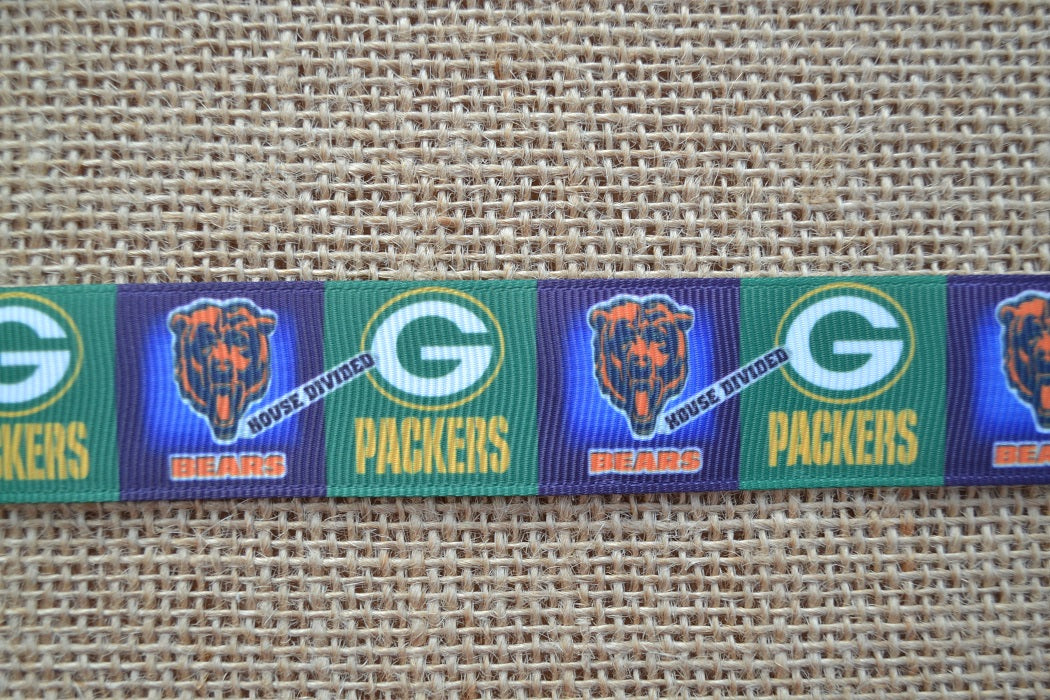 dog collar nfl chicago bears green bay packers football