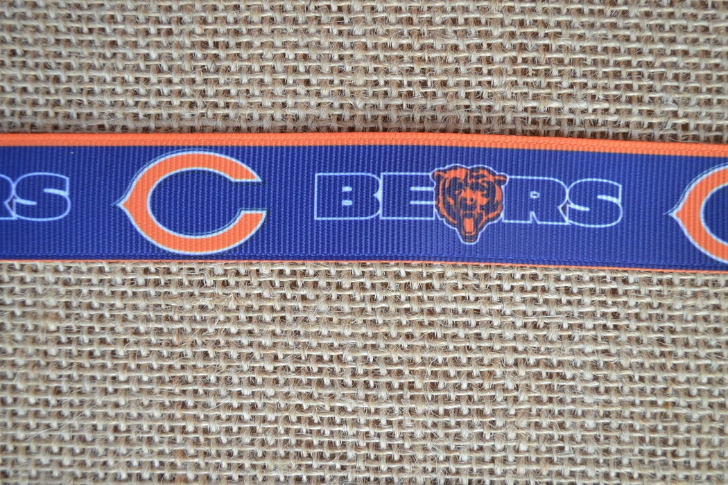 dog collar chicago bears football nfl